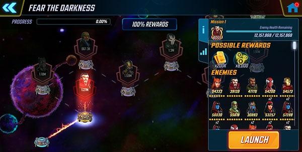 Marvel Strike Force Dark Dimension 1 - courtesy of Gaming-fans