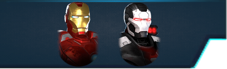 Marvel Strike Force Avengers - Iron Man War Machine