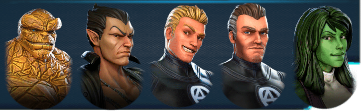 Marvel Strike Force Fantastic 4 1