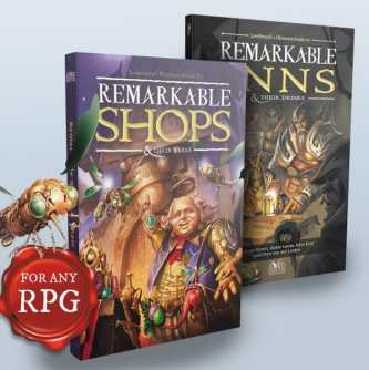 Remarkable Inns and Remarkable Shops by Loresmyth