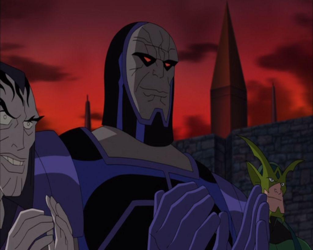 Darkseid and his loyal followers