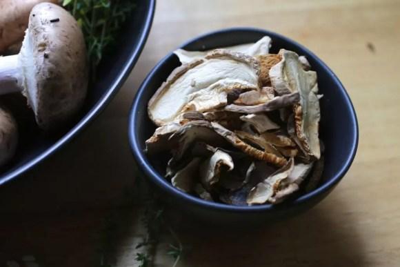 Dried wild mushroom mix with porcini
