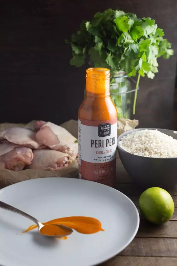 One-pan Peri-Peri Chicken and Rice