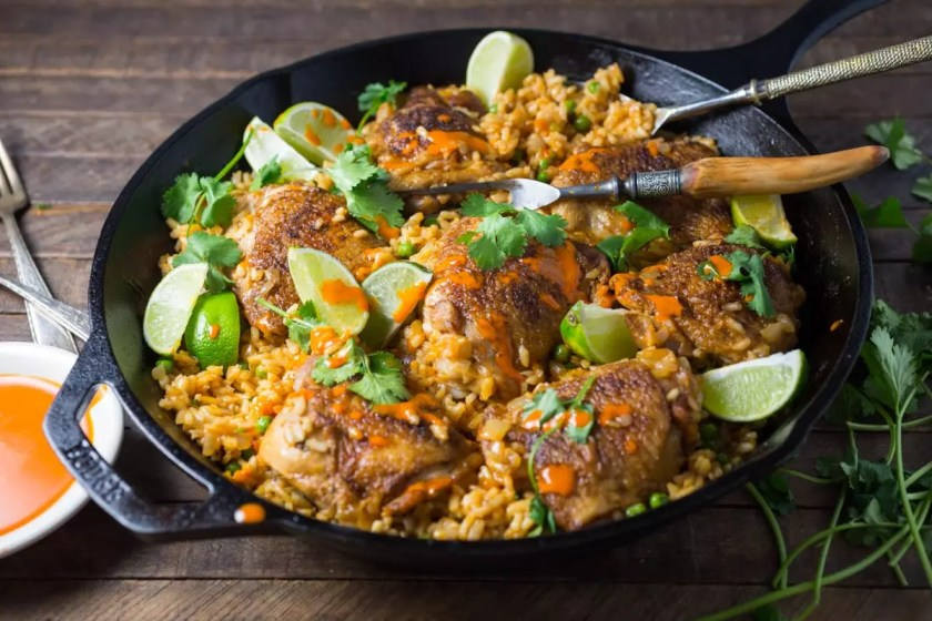 One-pan Peri Peri Chicken and Rice