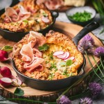 Cheddar and Chive Dutch Babies