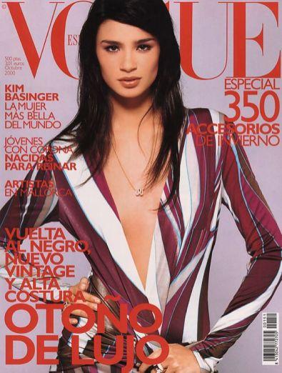 Na capa da Vogue