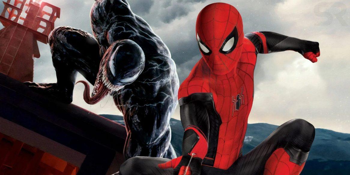 Venom e Homem Aranha
