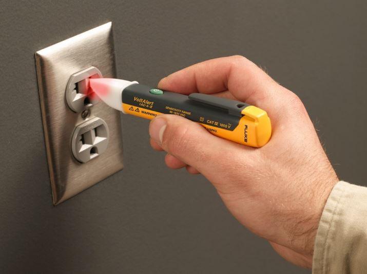 Draper Non Contact Voltage Detector Electric Alert Tester Volt Testing