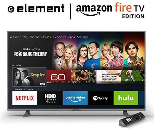Element Electronics 4K Smart LED TV Amazon Fire TV Edition Review