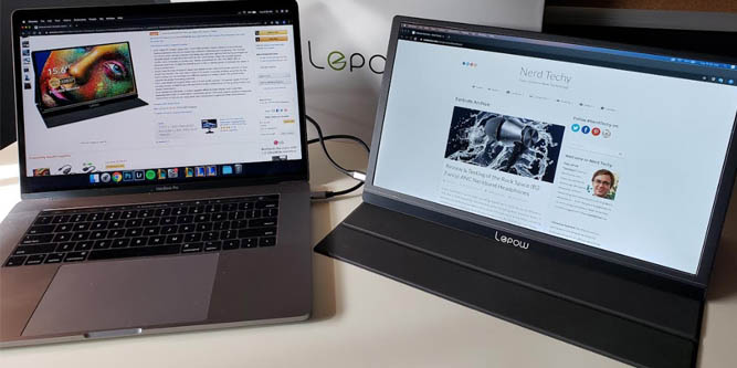 In Depth Review And Testing Of The Lepow Portable Monitor