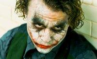 Heath Ledger as the Joker in The Dark Knight by Warner Bros.