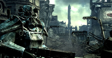 Fallout 3 video game screenshot, Bethesda Game Studios