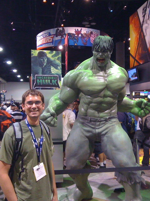 San Diego Comic Con 2008, The Incredible Hulk, Scott Kirchhofer