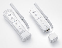 Nintendo Wii Remote Motion Plus accessory E3 summit 2008 Nerdvana Tribune