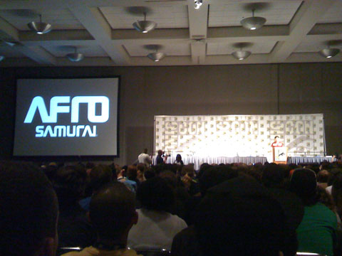 San Diego Comic Con 2008, Afro Samurai, Samuel L. Jackson