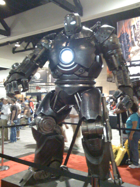 San Diego Comic Con 2008, Iron Man movie, Iron Monger