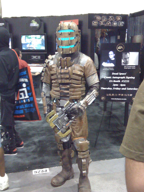 San Diego Comic Con 2008, Dead Space video game