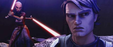 Star Wars The Clone Wars Lucasfilm Anakin Skywalker Asajj Ventress Warner Bros