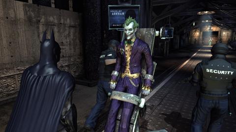 Batman Arkham Asylum Kevin Conroy Mark Hamill Joker