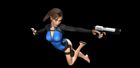 Tomb Raider Underworld wetsuit for Lara Croft on Xbox 360 from Eidos