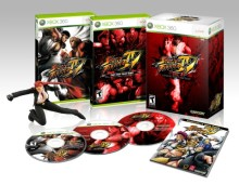 Street Fighter IV U.S. collectors edition for Xbox 360