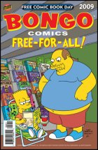 Free Comic Book Day Bongo Simpsons
