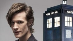 BBC Matt Smith enters the TARDIS as Doctor Who
