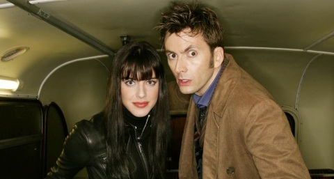 Michelle Ryan and David Tennant in Doctor Who