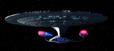Star Trek The Next Generation USS Enterprise