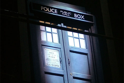 Doctor Who BBC TARDIS