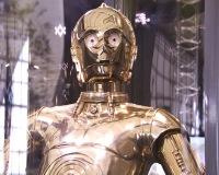 C-3PO costume in case