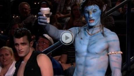 Conan O'Brien vampire Na'vi Jay Leno Tonight Show NBC