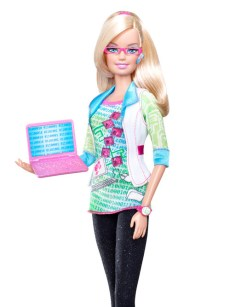 Computer Engineer Barbie from Mattel
