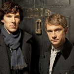 Benedict Cumberbatch and Martin Freeman in Sherlock (BBC)