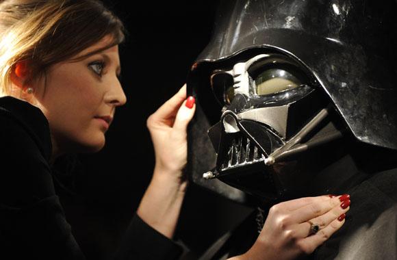 Britain Christie's Darth Vader