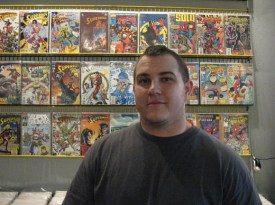 Josh Krize, Gotham City Comics & Coffee, Mesa