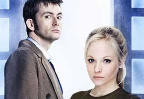 David Tennant and Georgia Moffett in Doctor Who (BBC America)
