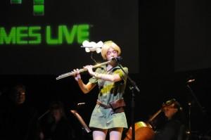 Laura Intravia, aka 'Flute Link' (Video Games Live)