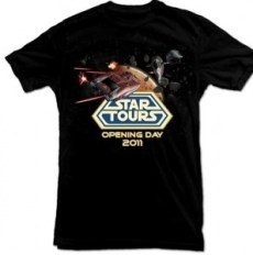 Star Tours opening day 2011 T-shirt
