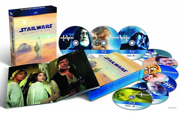 Star Wars Blu-ray package detail