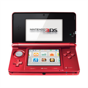 Flame Red Nintendo 3DS