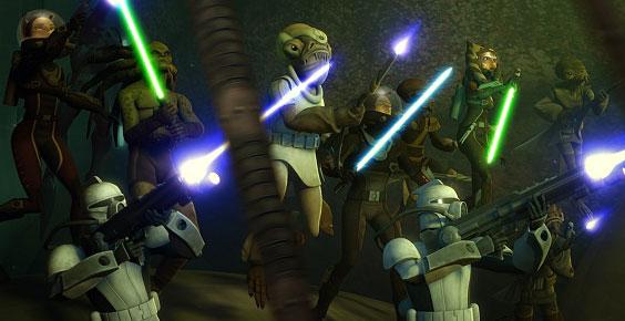 Star Wars: The Clone Wars Season 4 premiere