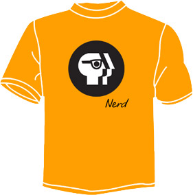 PBS Nerd Walk shirt