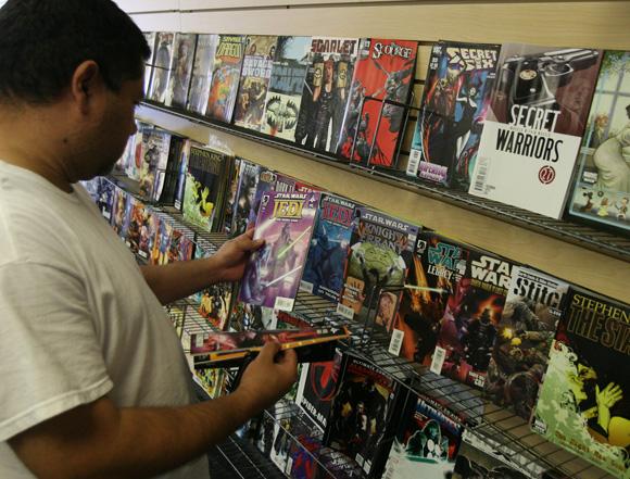 Samurai Comics' Mesa location moving