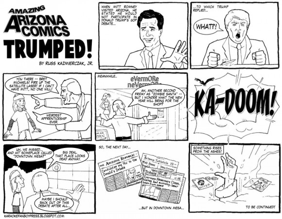 Amazing Arizona Comics: Trumped!