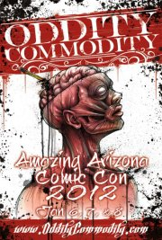 Oddity Commodity at Amazing Arizona Comic Con