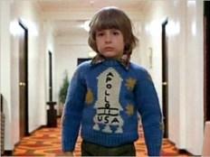 Danny Lloyd (as Danny Torrance) in The Shining