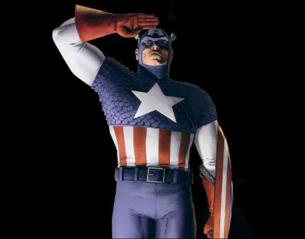 Captain America Salute