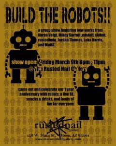 Build the Robots Art Show