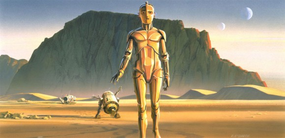 Star Wars art by Ralph McQuarrie (Lucasfilm)